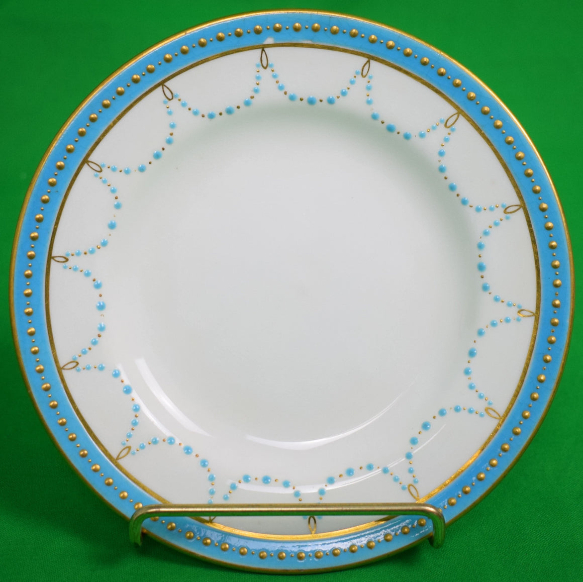 Set of 10 Mintons English China Plates