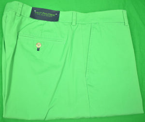 "Lilly Pulitzer Palm Green Poplin ""Phipps"" Pant Sz: 36""W New w/ Tag!"