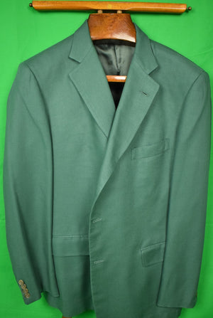 The Andover Shop Dartmouth Green Herringbone c1997 Blazer