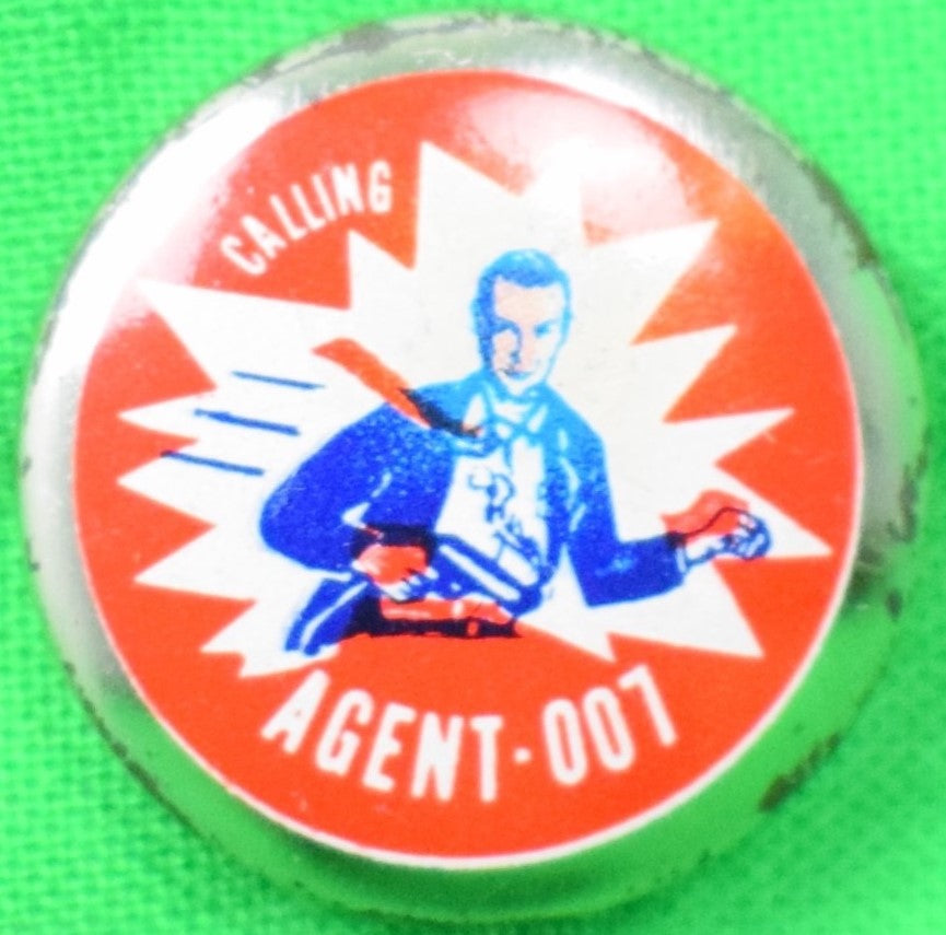 Sean Connery Calling Agent-007 Pin