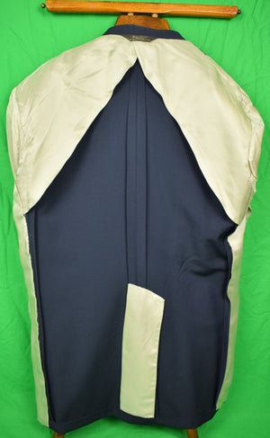 Paul Stuart II Tropical Navy Blazer Sz 45L