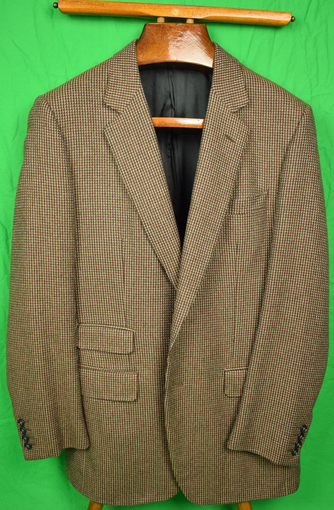 Alfred Dunhill Cashmere Tic Weave (2) Button Sport Jacket Sz: 42R
