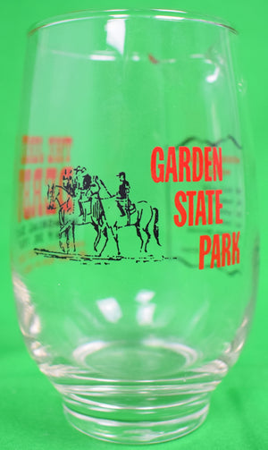 The Jersey Derby Garden State Park 1967 Glass Pitcher