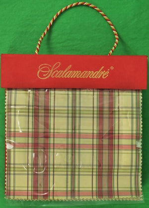 Scalamandre 'Companion' Plaid Fabric (120) Swatch Book
