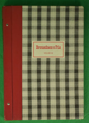 Brunschwig & Fils Volume 32 c1988 Swatch Book