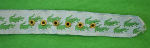 Alligator Ribbon Watchstrap