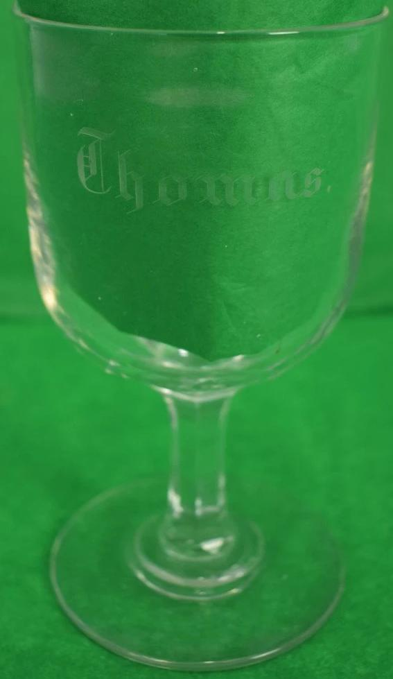 Thomas Crystal 19th Century Goblet