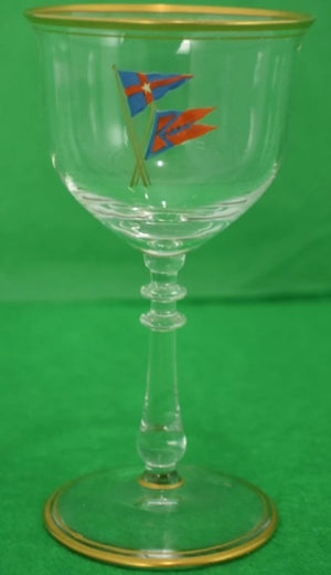 (49) Piece Set of Private/ New York Yacht Club c1930s Glassware Collection