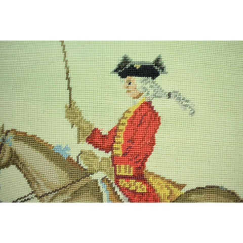 Equestrian Needlepoint Pillows