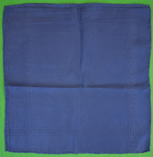 Brooks Brothers Royal Blue English Silk Pocket Sq
