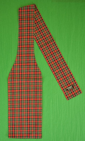 Brooks Brothers Royal Stewart Tartan Plaid Cotton Ascot