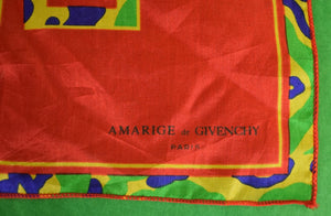 Amarige de Givenchy Silk Multicolor Pocket Sq
