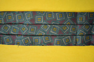 Ancient Madder Silk Foulard Ascot