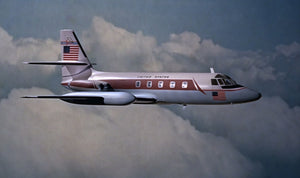 Goldfinger's Lockheed L-1329 JetStar Desktop Model Made in Holland
