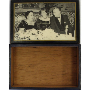 El Morocco Club Cigarette/Cufflinks Box