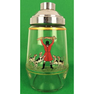 Abercrombie & Fitch Frank Vosmansky Fox-Hunt 1938 Cocktail Shaker