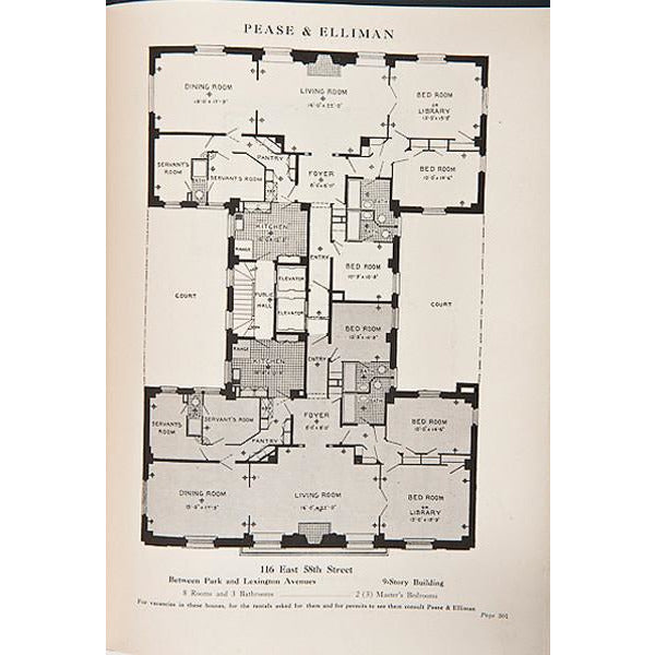 Pease And Elliman's Catalogue Of The East Side Of New York