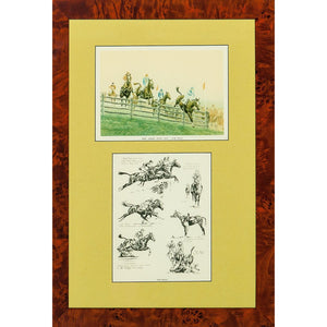 New Jersey Hunt Cup-Far Hills by Paul Desmond Brown for The Derrydale Press Pub 1930