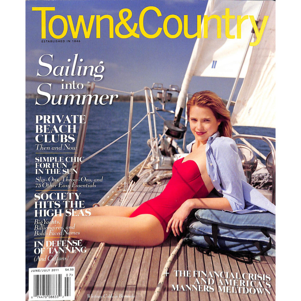 """Town & Country: Sailing Into Summer"" June/ July 2011"