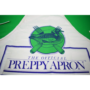 The Official Preppy Apron (c1981 Deadstock!)