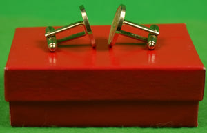 "Pair of The ""21"" Club New York Brass T-Back Cufflinks (SOLD)"