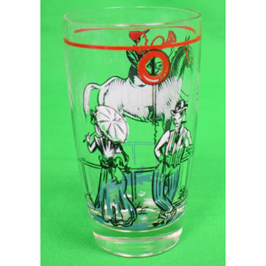 Set of 3 Horse Racing Cocktail Glasses