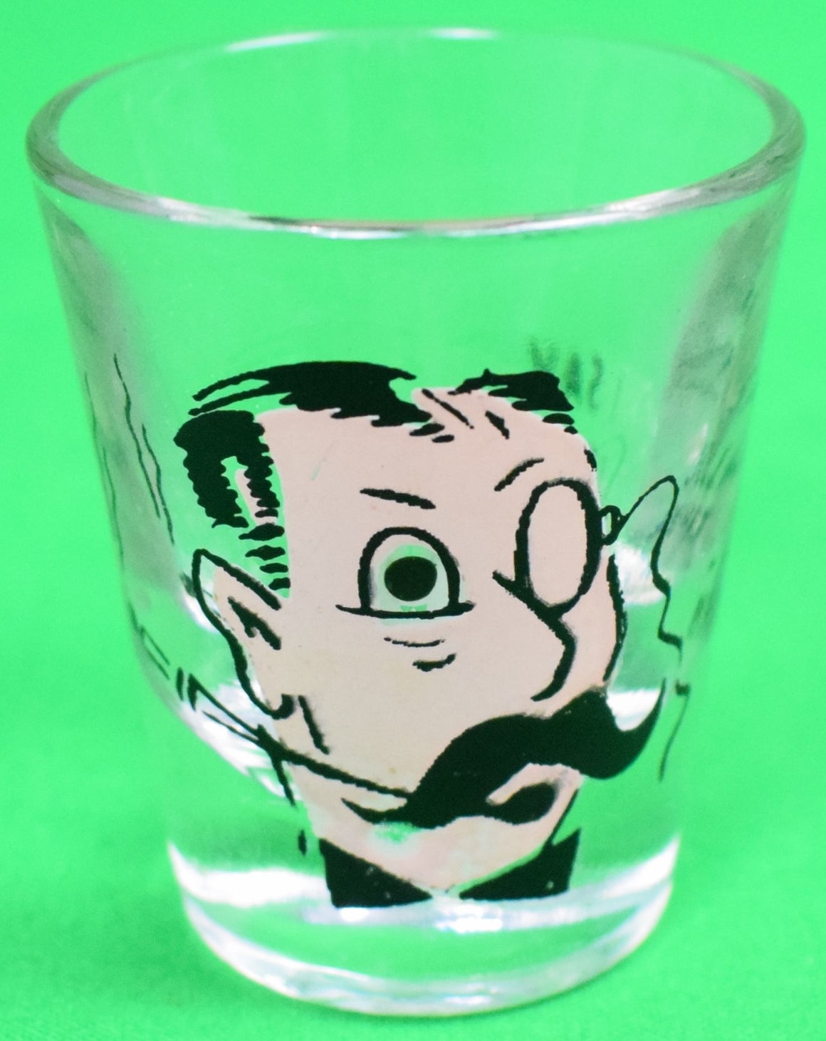 I Say Jolly What! Hand-Painted Shot Glass