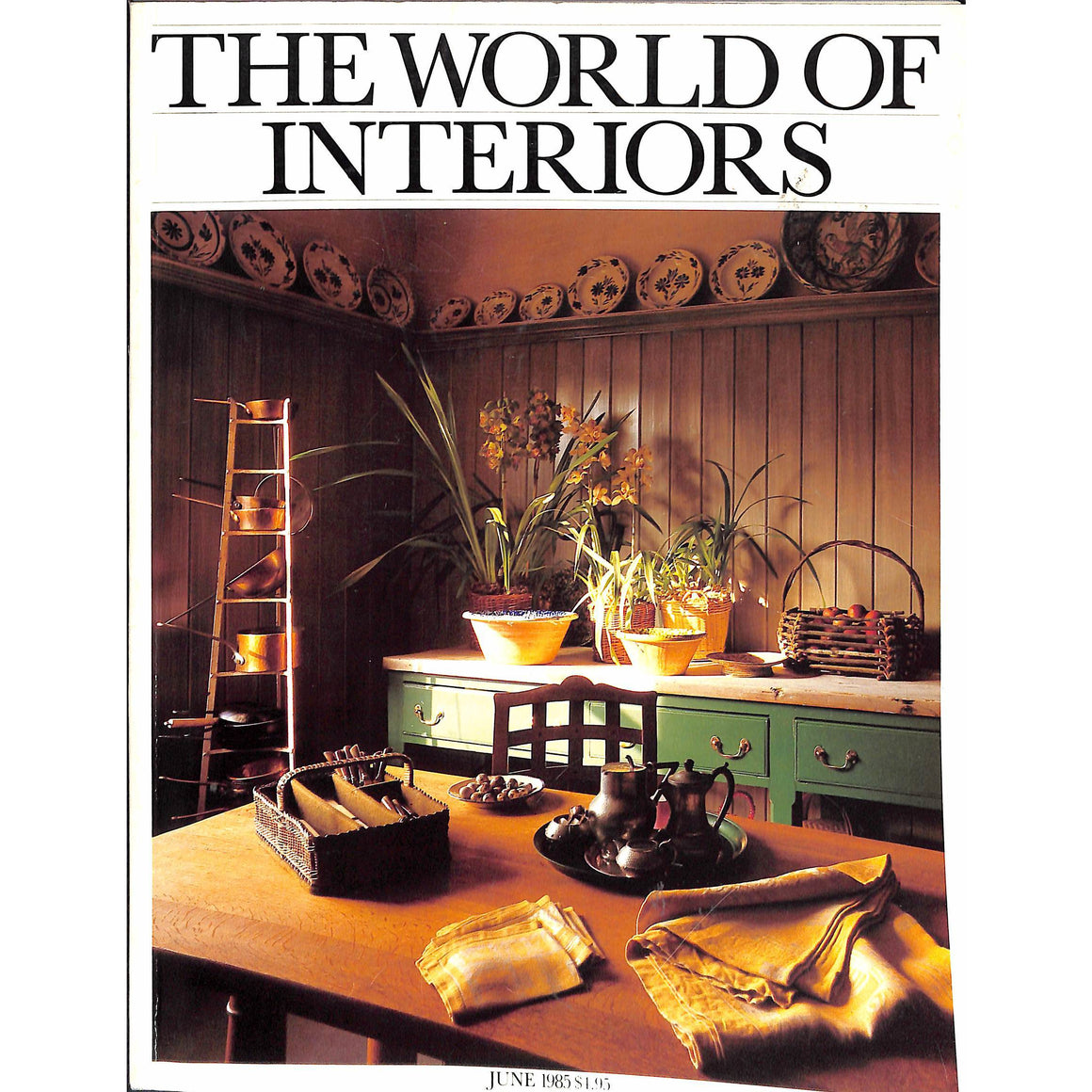 'The World of Interiors June 1985'