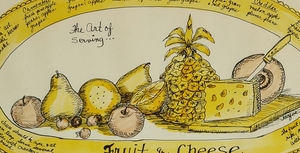 'The Art of Serving Fruit and Cheese'