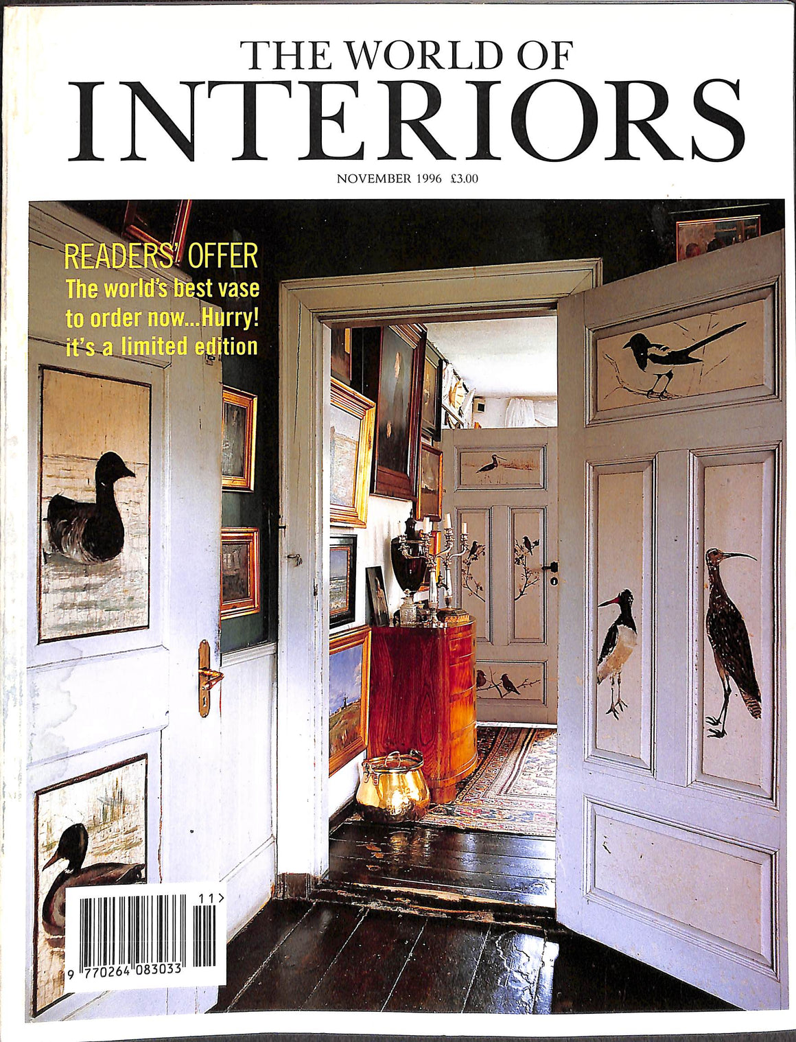 The World of Interiors: November 1996