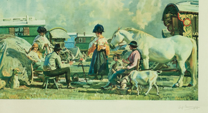 Gypsy Caravan 1927 F&R by Sir Alfred Munnings