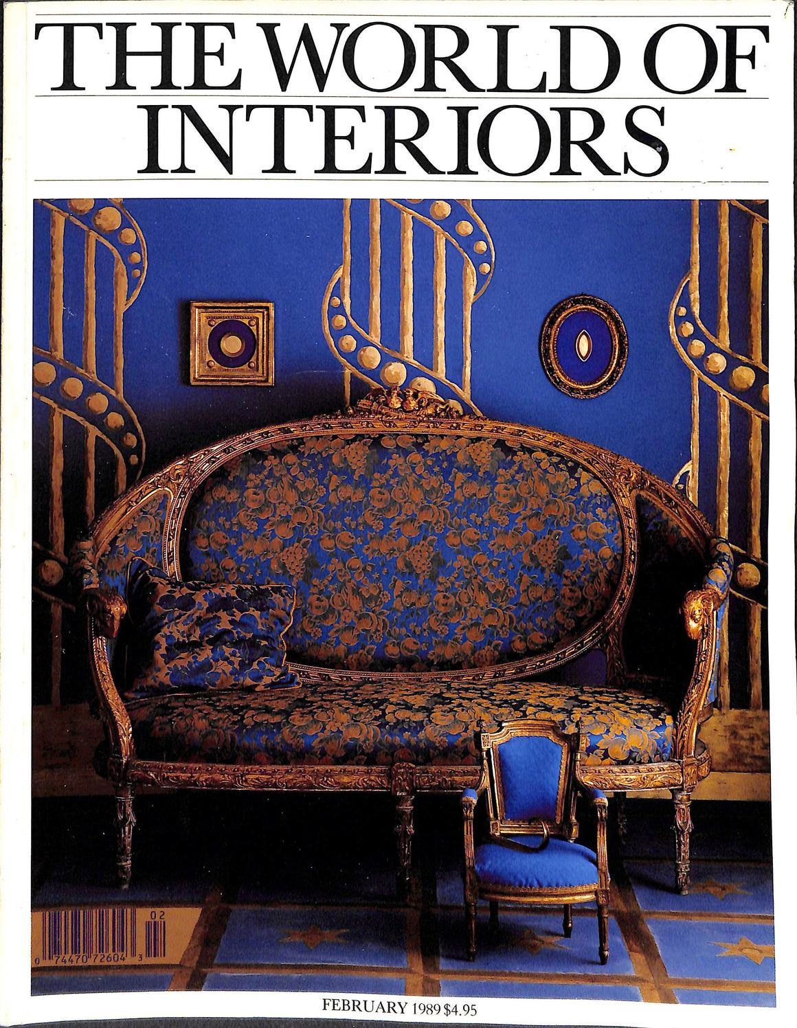 'The World of Interiors: February 1989'