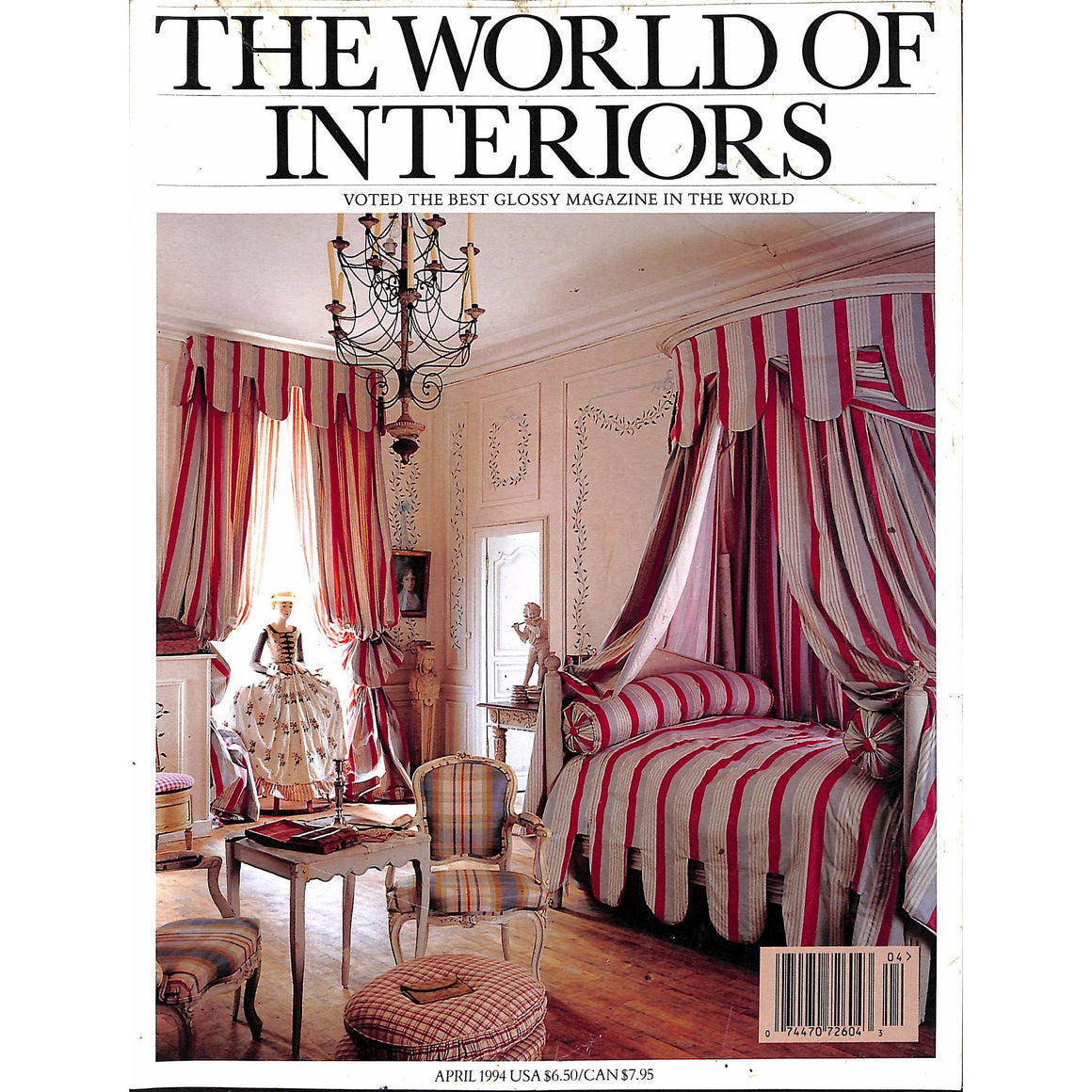 The World Of Interiors April 1994