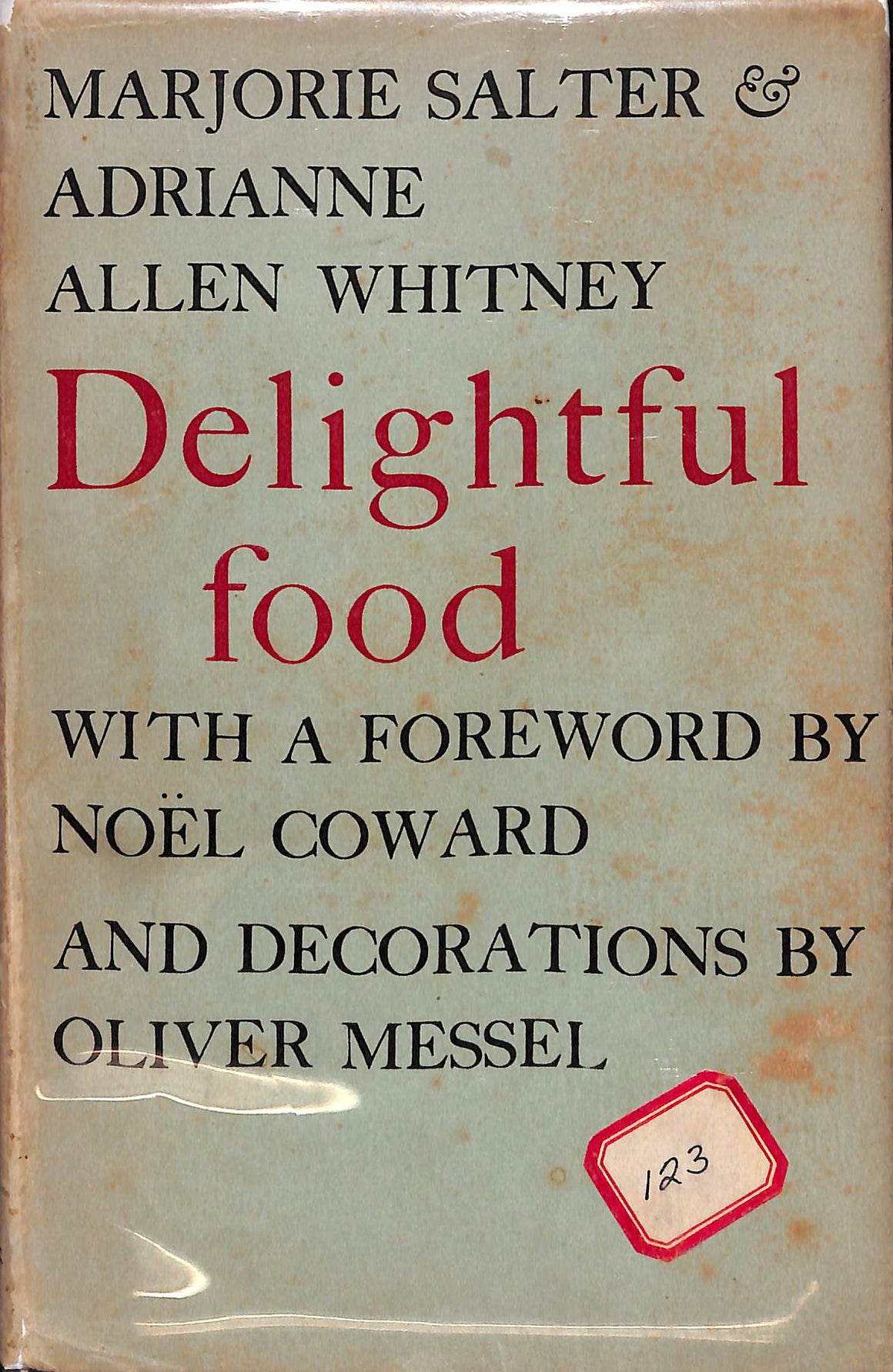 Delightful Food (Inscribed!)