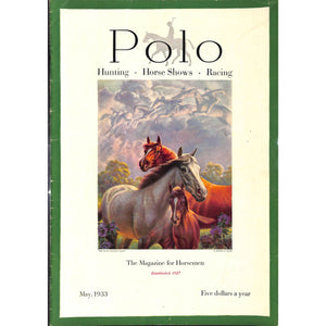 Polo Magazine May, 1933