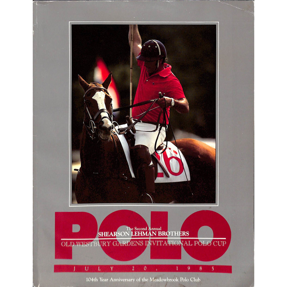 Polo Magazine July 20, 1985