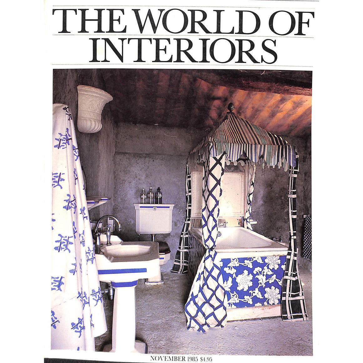 """The World of Interiors"" November 1985 (Sold!)"