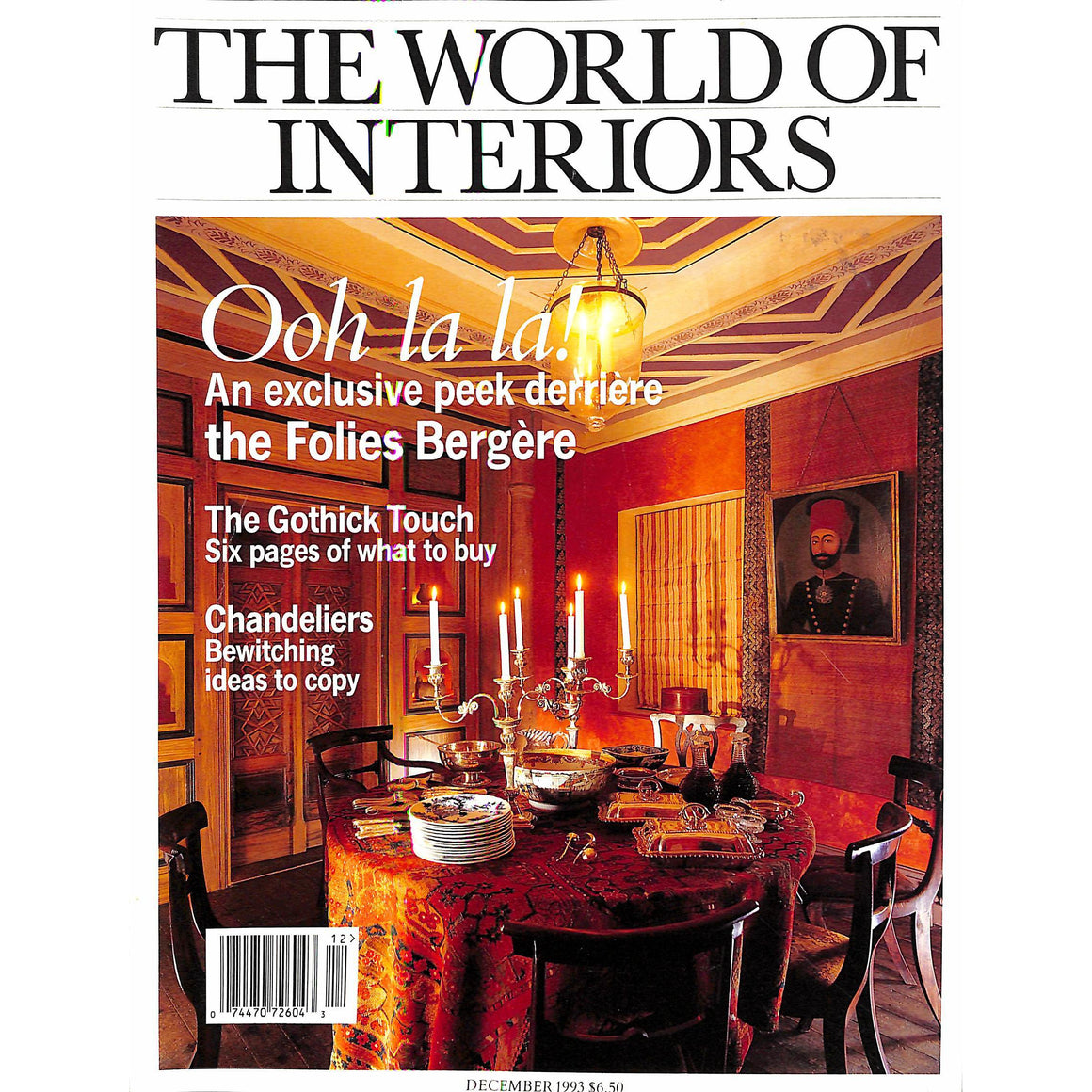 The World Of Interiors December 1993