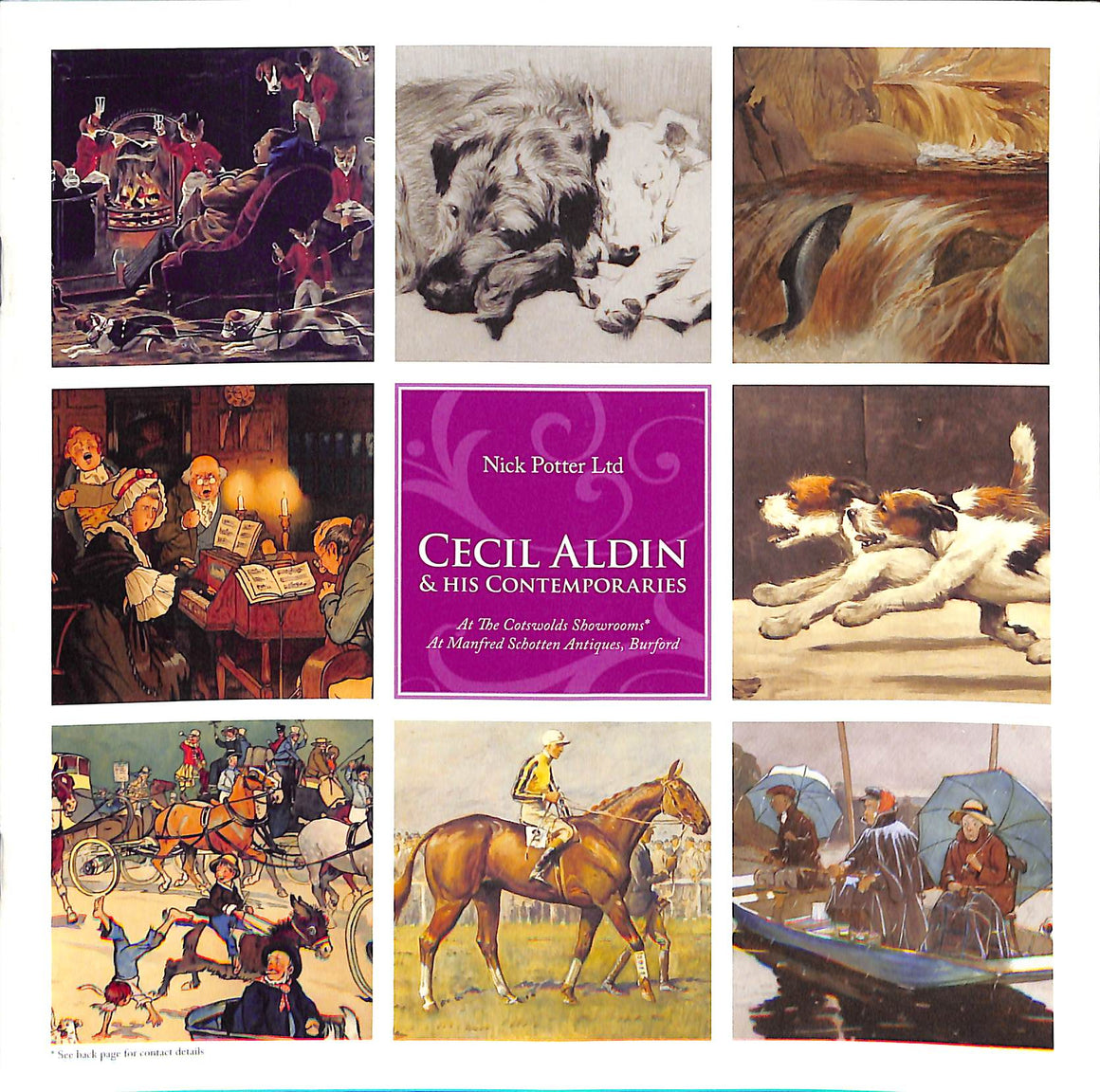 Cecil Aldin & His Contemporaries (Sold!)