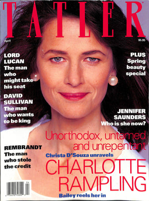 Tatler Volume 287 Number 4 April 1992