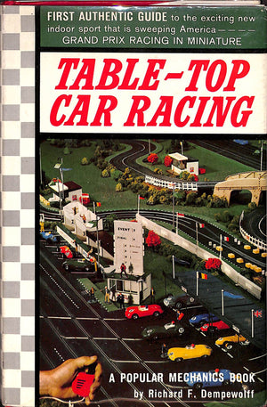 """Table-Top Car Racing"" 1963"