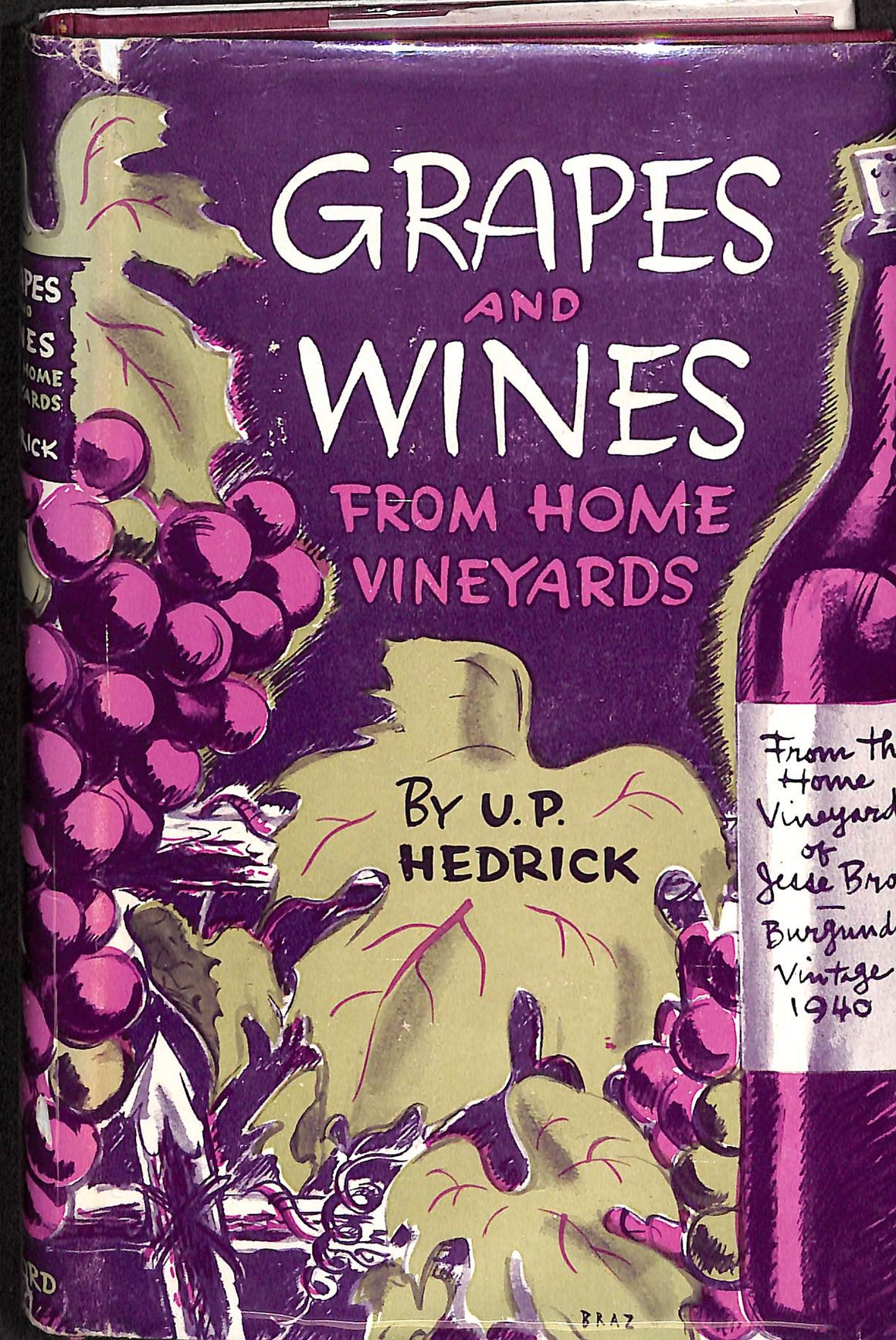 Grapes and Vines: From Home Vineyards
