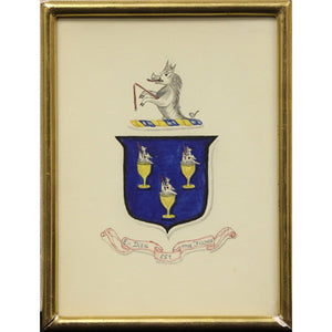 Rearing Griffin Coat of Arms