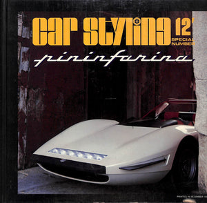 Car Styling 12' Special Number: Pininfarina