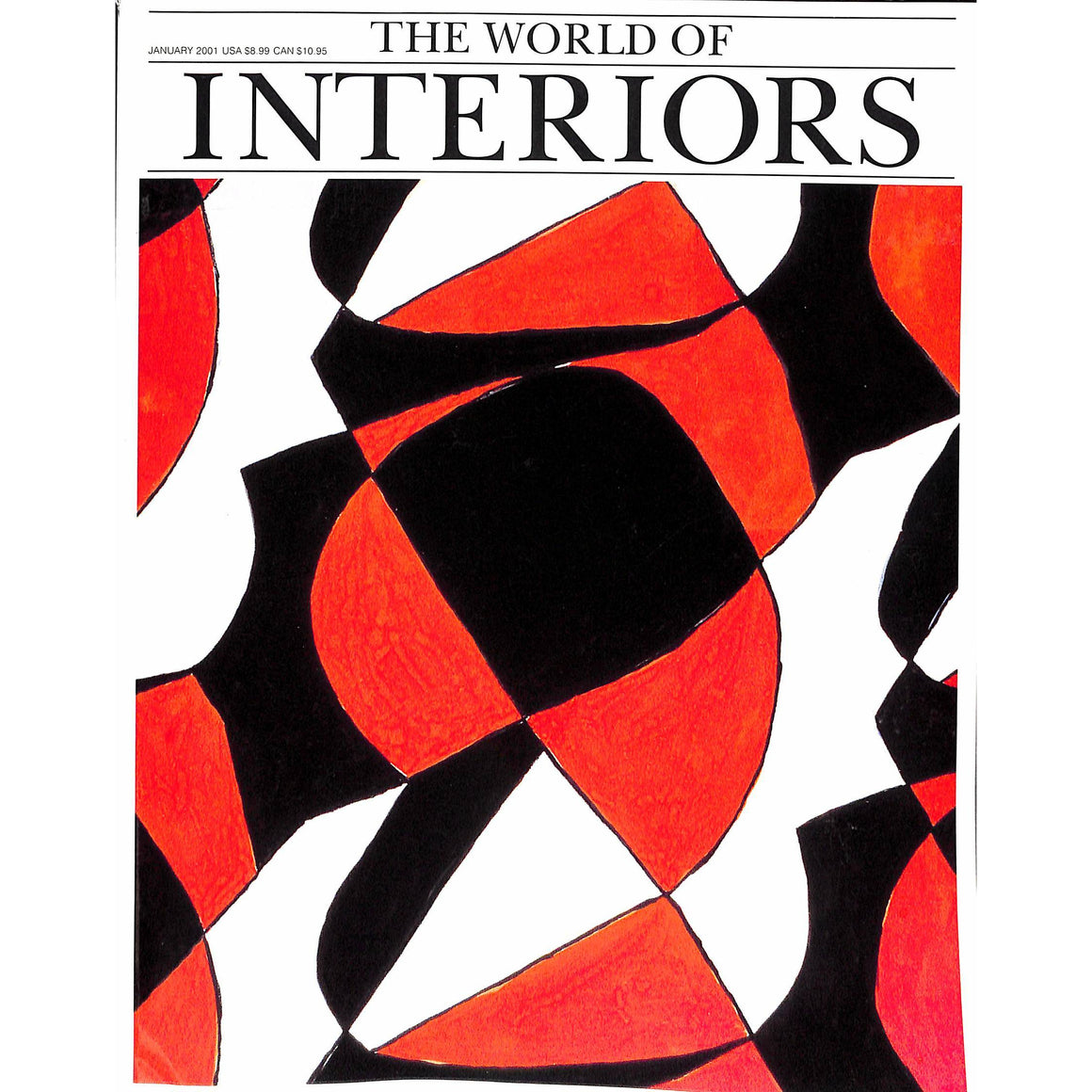 'The World of Interiors January 2001'