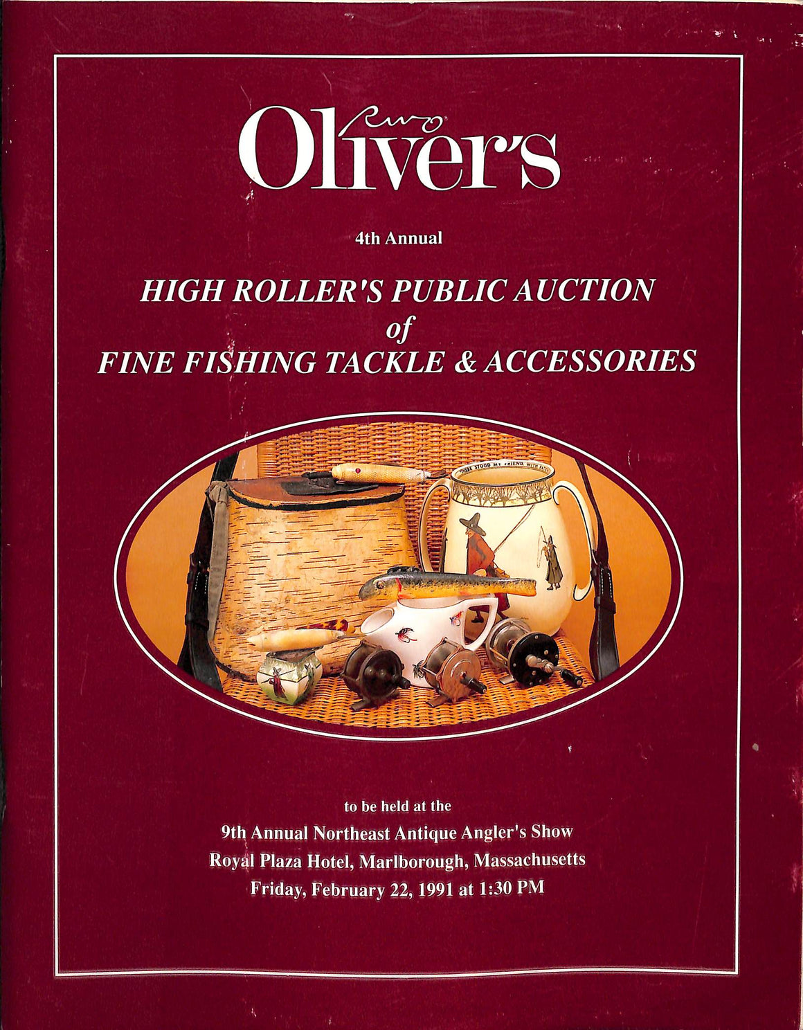 Oliver's 4th Annual High Roller's Public Auction of Fine Fishing Tackle & Accessories