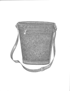 Bits & Stirrups Bucket Bag