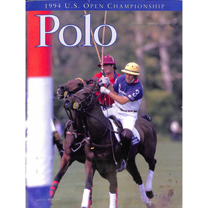 Polo Magazine December 1994 / January 1995