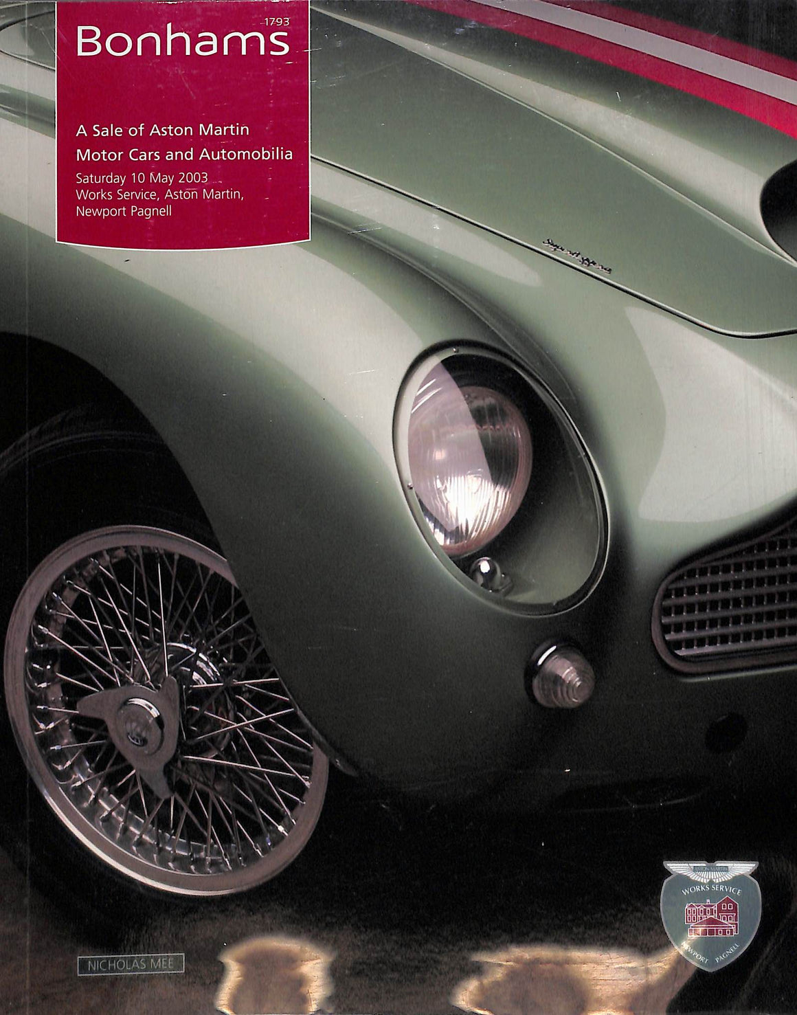 Bonhams 2003 A Sale of Aston Martin Motor Cars and Automobilia