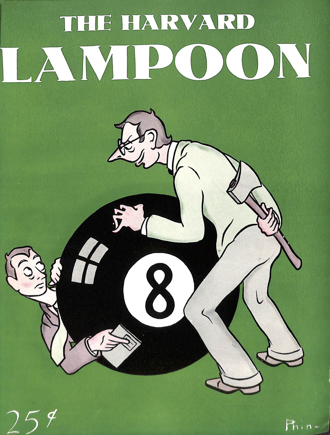 The Harvard Lampoon Index Volume CXXI 12 Bound 1941 Issues